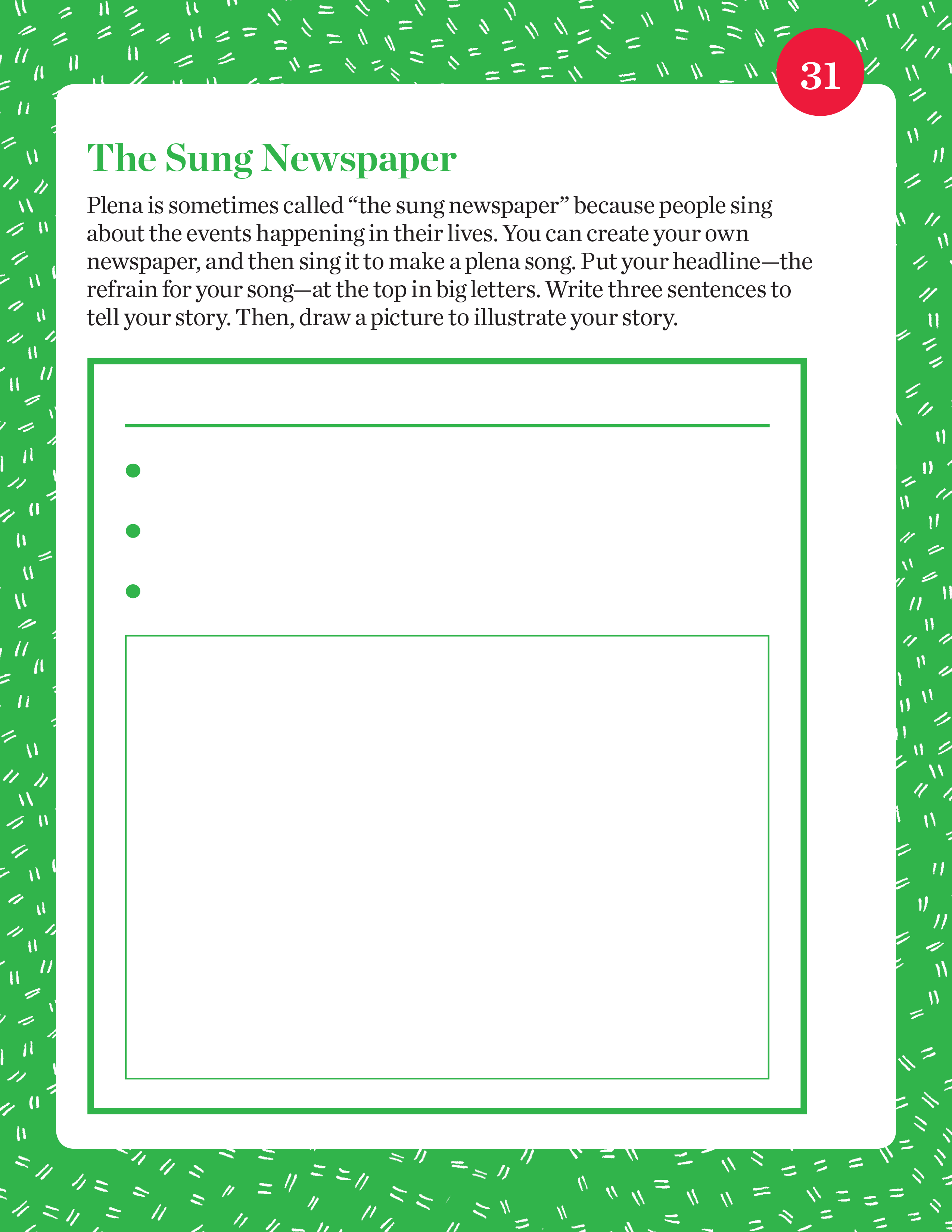 The Sung Newspaper