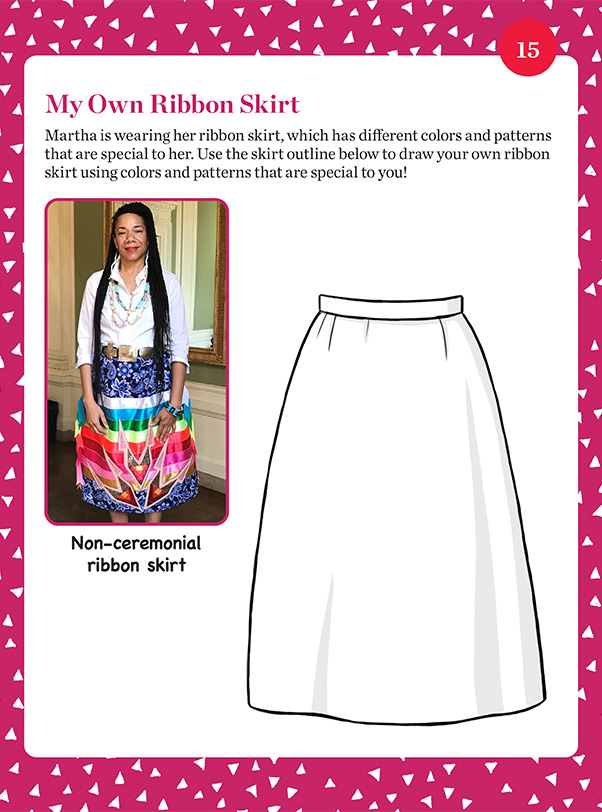 """My Own Ribbon Skirt"" student activity"
