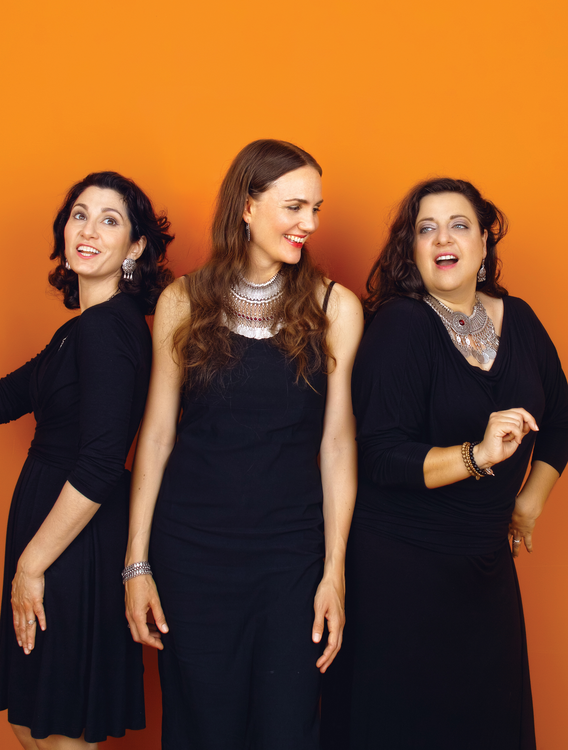 The Zulal Trio - Teni Apelian, Yeraz Markarian, and Anaïs Tekerian