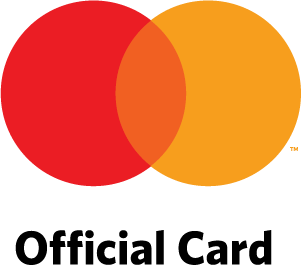 Mastercard logo with Official Card tagline.