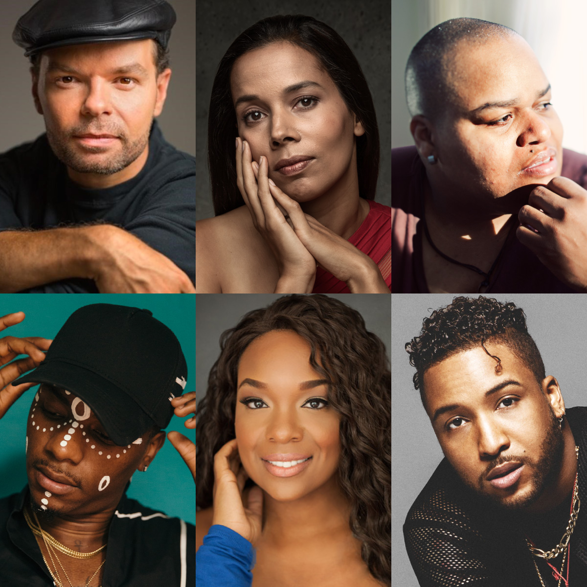 Lemon Andersen, Rhiannon Giddens, Toshi Reagon, Young Paris, Carrie Compere, and Ro James
