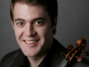 The Academy - Ensemble ACJW - Owen Dalby - Violin Headshot