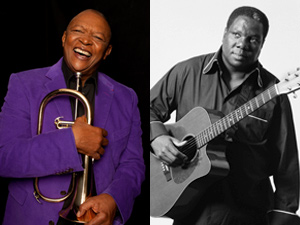 Hugh Masekela and Vusi Mahlasela