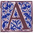 Renaissance Letter A 110x110