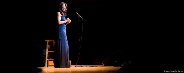 Audra McDonald on stage 640