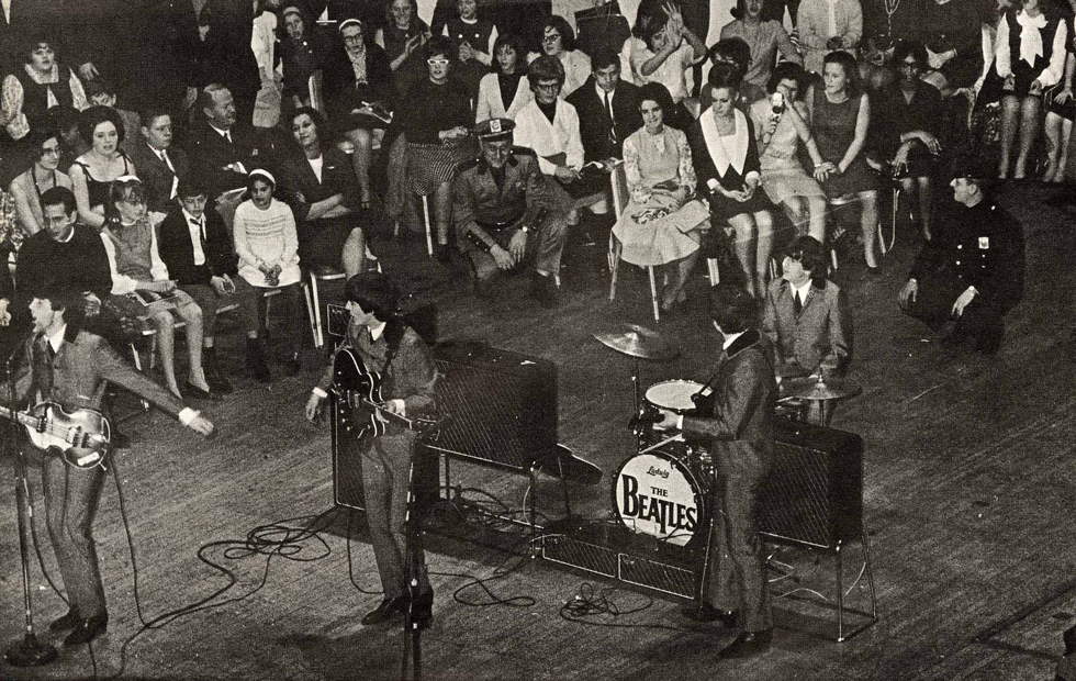 Beatles at Carnegie Hall 1964