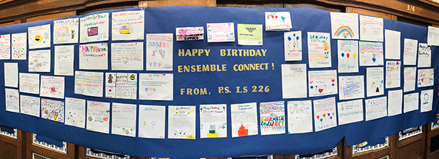 Ensemble Connect birthday PSIS 226