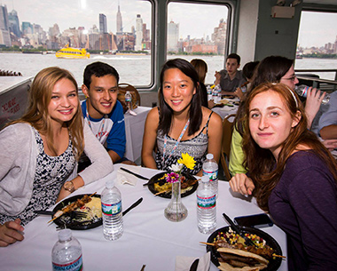 NYO Leah Meyer at the table cr Chris Lee