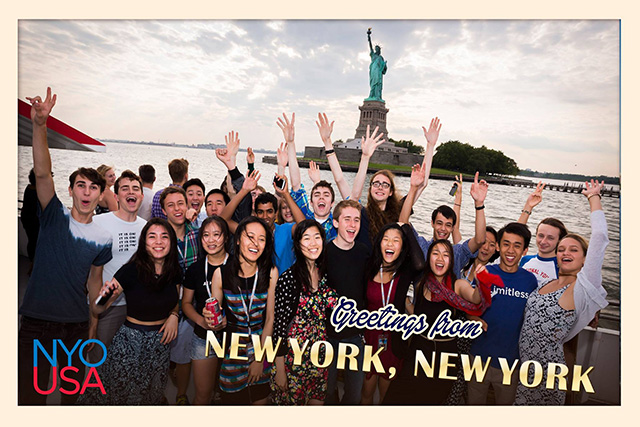 NYO-USA NYC Postcard