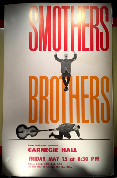 Recent Acquisitions Smothers Brothers