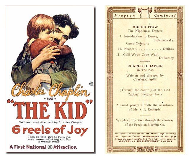 The Kid Poster and Program