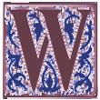 Renaissance Letter W 110x110