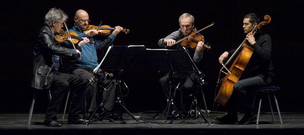 Kronos Quartet performing Steve Reich's WTC 9/11 (Stefan Cohen)