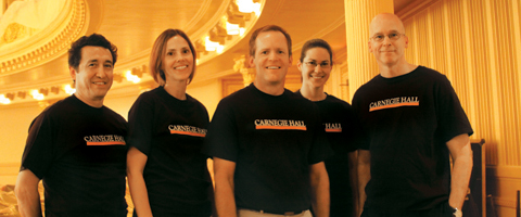 Carnegie Hall New York CIty Marathon team