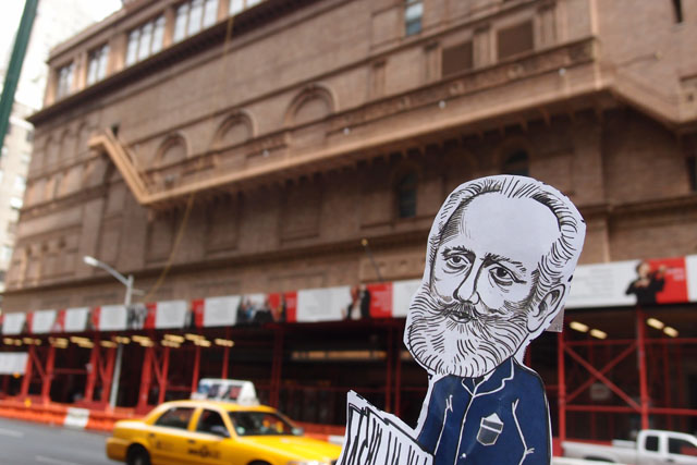 mini Tchaikovsky at Carnegie Hall