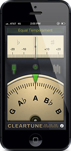 Back to School chromatic tuner app