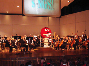 Albany Symphony Orchestra performing Link Up
