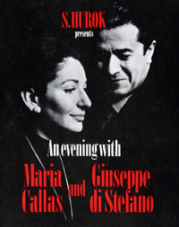 This flyer of Maria Callas's final performance, 1974