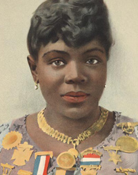Sissieretta Jones in an 1889 poster.
