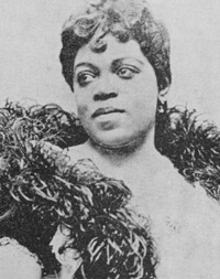 Sissieretta Jones, 1896.
