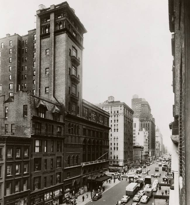 1955 Carnegie Hall Streetscape