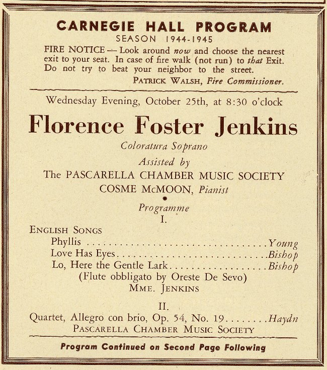 Florence Foster Jenkins 1