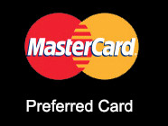MasterCard black preferred card