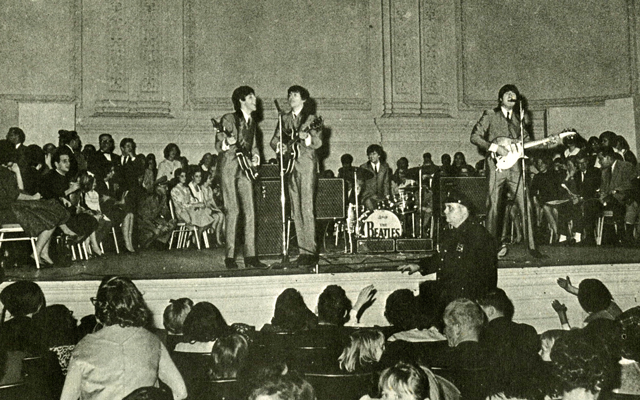 Beatles Stage Photo