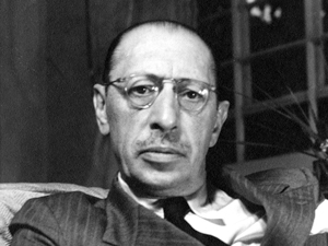 Golden Age Composer Portrait Stravinsky