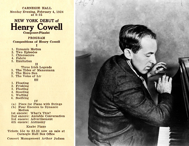 Henry Cowell - Composers Workshop - The Piano Music Of Henry Cowell