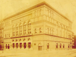 Archives Carnegie Hall