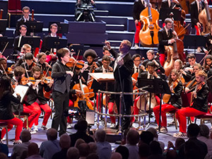 NYO at BBC Proms 2013 (Chris Lee)
