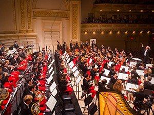NYO Carnegie Hall performance 2014 (Chris Lee)