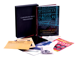 Carnegie-Hall-Treasures-Book-Setup