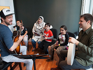 Family Weekend: Songwriting (Stefan Cohen)