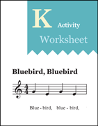 MET Kindergarten A6 TW Blue Bird