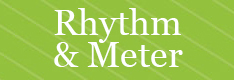 Toolbox Rhythm and Meter button
