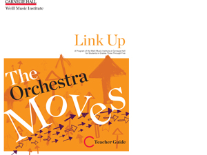 Link Up Orchestra Moves Teacher Guide Cover
