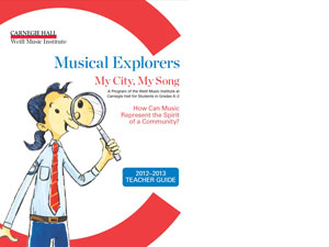 Musical Explorers Cover 2012 2013