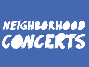 TSP Neighborhood Concerts tout